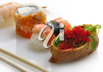 Royalty Free Photo of Fresh Sushi