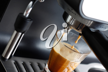 Royalty Free Photo of an Espresso Machine