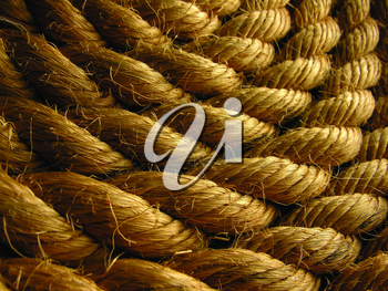 Royalty Free Photo of a Rope Background