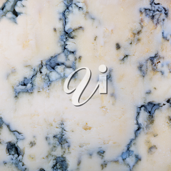 A background texture of blue cheese