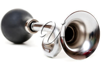 Royalty Free Photo of a Silver Horn